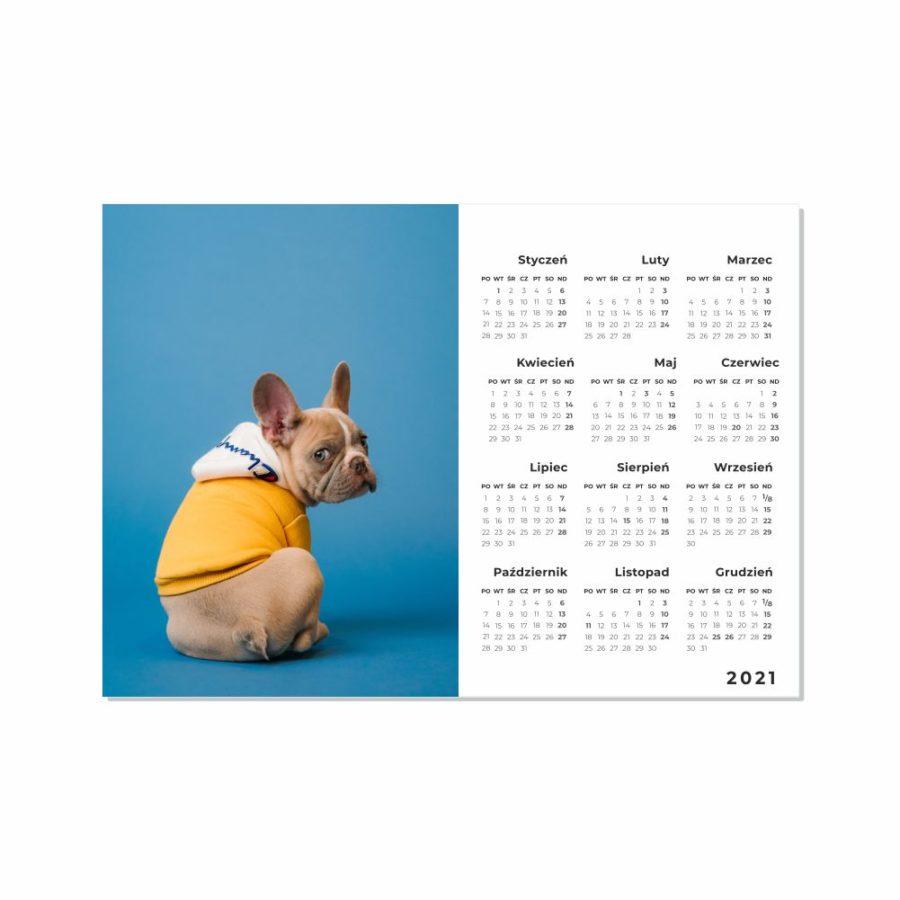 Kalendarze 1-kartkowe